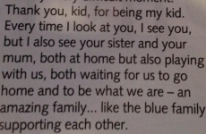 'Thank you, kid, for being my kid' - Mourinho writes to message his son in Chelsea's match programme