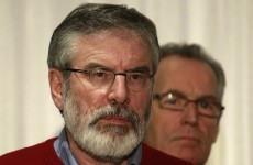 UPDATE: Gerry Adams released without charge