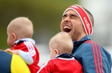 In honour of Simon Zebo, here are 13 fantastic pics of Irish sports stars posing with babies