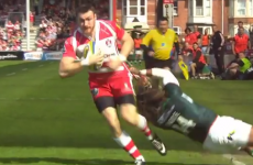 Irish winger Shane Monahan scorches in a hat-trick for Gloucester