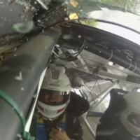 What a high-speed crash looks like from inside a rally car (video)