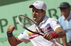 Djokovic makes it 42 straight wins with victory over Del Potro