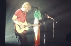 Ed Sheeran dedicated a song to Triona Priestley at his secret gig in Dublin last night