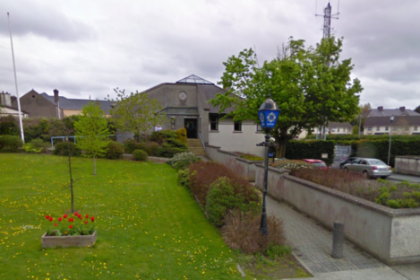Carlow Garda Station, where the two men are being held.