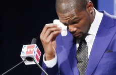 Kevin Durant thanks God, his mam, his team-mates and his city in tearful MVP speech