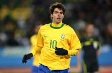 No place for Kaka in Brazil's World Cup squad
