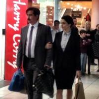 Colin Farrell and Rachel Weisz were hanging around Blanchardstown today