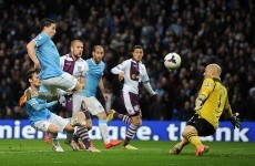 As it happened: Manchester City v Aston Villa, Premier League