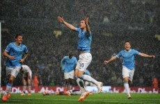 Manchester City reach 100 goal mark and move to the brink of claiming the title