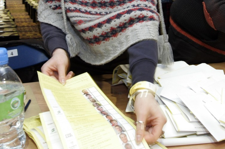 Ballots are counted in the 2011 Dublin West by-election