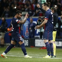 Celebration time for Zlatan and the PSG lads as they retain Ligue 1 title