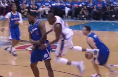 Kevin Durant celebrates his MVP award with a huge flop (and 32 points)