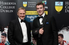 Irish rugby stars scrub up for annual IRUPA players' award bash