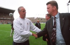 Formative failure: Louis van Gaal's first spell with the Netherlands