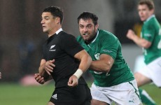 Connacht prop eager to add to Test debut cap against New Zealand
