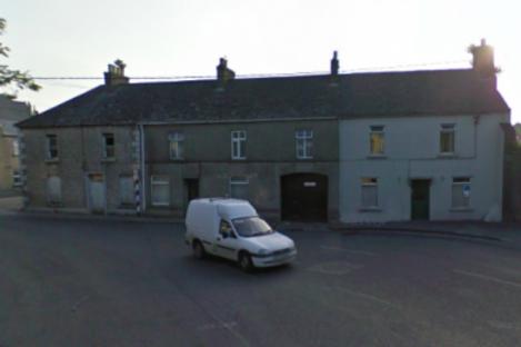 The three houses on Vicar Street in Kilkenny.