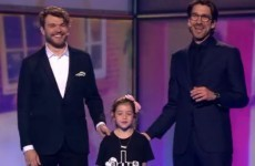 A little dancer from Bray completely won over the Eurovision last night