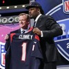'Johnny Football' made to sweat as Clowney picked first at NFL Draft
