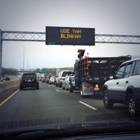 Boston drivers given to-the-point road signs.... do we need some in Ireland?