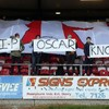 Derry City fans have paid their respects to 'Wee Oscar' at the Brandywell