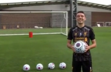 Liverpool striker Iago Aspas in epic bin challenge fail