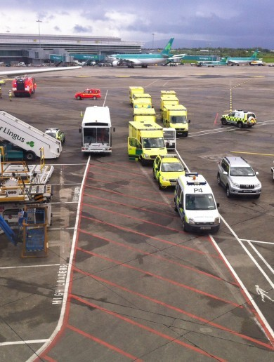 Plane diverted to Dublin Airport after flight attendants report illnesses