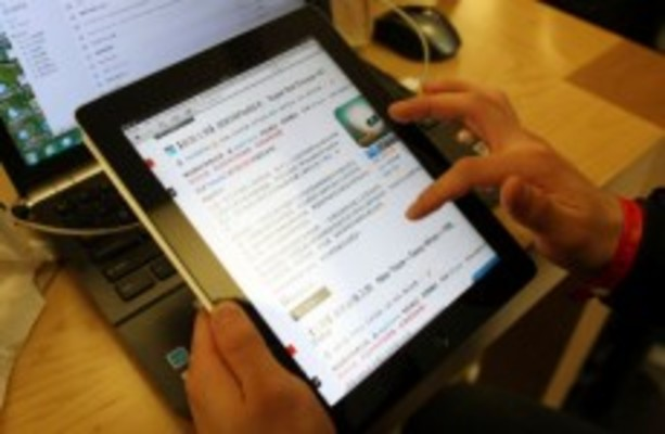 From old-school to high-tech: iPads replace textbooks