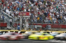 You filled the tank right? Nascar star Earnhardt runs out of petrol