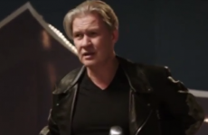 Johnny Logan made a brilliant appearance at the 2014 Eurovision