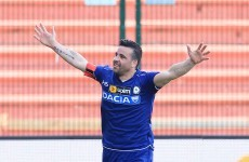 Woof! Antonio Di Natale's still scoring brilliant goals
