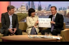 "David Cameron told to ""shut up"" on telly, then ripped to shreds on Twitter"