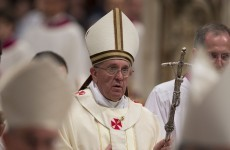 Pope tells priests to be nicer to their congregations