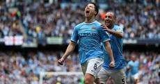 Man City on brink of Premier League title as Samir Nasri breaks deadlock