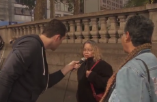 Old ladies on the street talk about Miley Cyrus' vagina