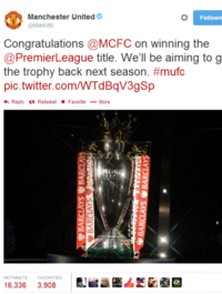 Here's how Twitter reacted to the final day of the Premier League season