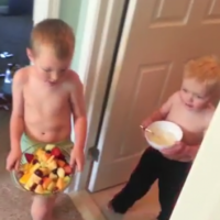 This is why you should never trust your kids to bring you breakfast in bed