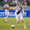 Robbie Keane thought he'd scored an injury-time winner for LA Galaxy yesterday
