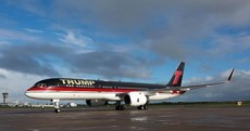 Donald Trump's gold-plated Boeing 757 is parked in Shannon at the moment - want a look inside?