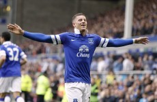 Barkley named in England World Cup squad, Michael Carrick left out