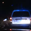 Unbelievable dash-cam footage shows tree falling on unlucky traffic cop