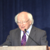 """""""The crisis has exacted a huge toll on the Irish people"""" - President Higgins is critical of economic teaching"""