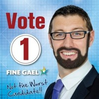 This Fine Gael candidate has given himself a glorious Conchita beard