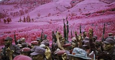 Irish artist wins international prize for his psychedelic war photography
