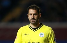 Scott Carson took out his anger on Bobby Zamora after QPR scored a penalty last night
