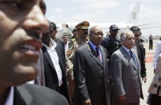 Libyan officers defect from Gaddafi's forces as Zuma arrives in Tripoli for talks