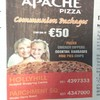 Apache Pizza in Cork are doing Communion buffets