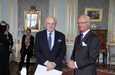 Former Attorney General given honour by Swedish royal family
