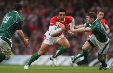 Bath centre Gavin Henson named in 'Probables' squad for Wales trial