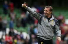 Rodgers coy on Lallana, contract talks as Liverpool jet back out of Dublin