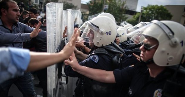 Strike action in Turkey over mining disaster as protesters rage against authorities